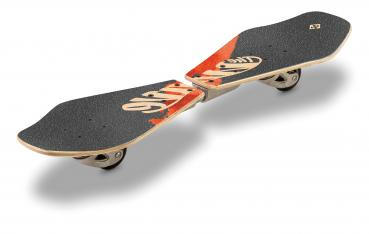 StreetSurfing Wooden Waveboard Wave Rider - Abstract
