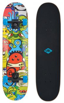 Skateboard Slider 31 Monsters
