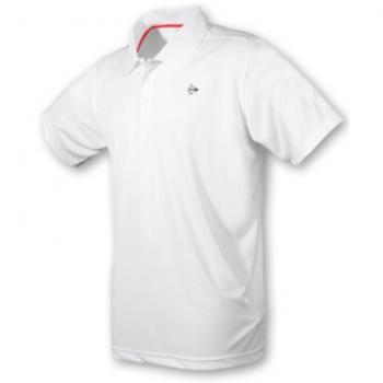 Dunlop Boys Button Polo weiß