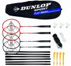 Dunlop Smash 4er Badminton Set